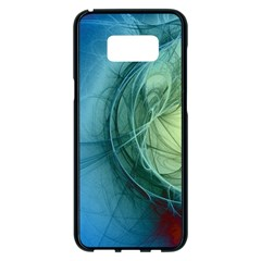 Connection Ball Light  Samsung Galaxy S8 Plus Black Seamless Case by amphoto