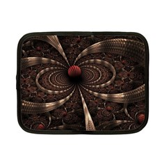 Circles Spheres Lines  Netbook Case (small)  by amphoto