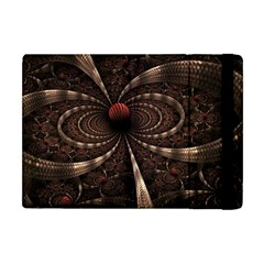 Circles Spheres Lines  Apple Ipad Mini Flip Case by amphoto