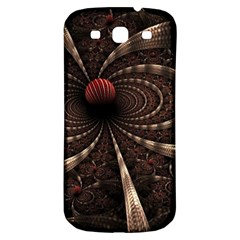 Circles Spheres Lines  Samsung Galaxy S3 S Iii Classic Hardshell Back Case by amphoto