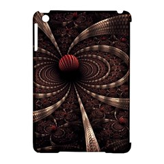 Circles Spheres Lines  Apple Ipad Mini Hardshell Case (compatible With Smart Cover) by amphoto