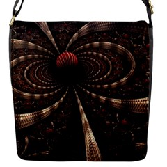 Circles Spheres Lines  Flap Messenger Bag (s) by amphoto