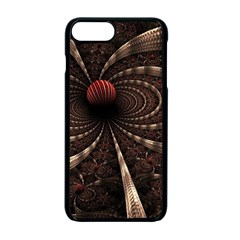 Circles Spheres Lines  Apple Iphone 7 Plus Seamless Case (black) by amphoto