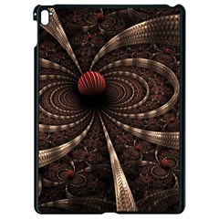 Circles Spheres Lines  Apple Ipad Pro 9 7   Black Seamless Case by amphoto
