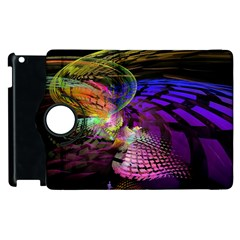 Fractal Patterns Background  Apple Ipad 2 Flip 360 Case by amphoto