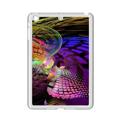 Fractal Patterns Background  Ipad Mini 2 Enamel Coated Cases by amphoto