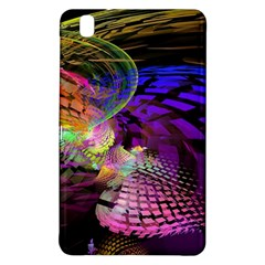 Fractal Patterns Background  Samsung Galaxy Tab Pro 8 4 Hardshell Case by amphoto