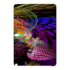 Fractal Patterns Background  Samsung Galaxy Tab Pro 12 2 Hardshell Case by amphoto