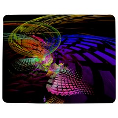 Fractal Patterns Background  Jigsaw Puzzle Photo Stand (rectangular) by amphoto