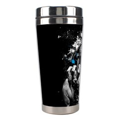 Man Rage Screaming  Stainless Steel Travel Tumblers by amphoto