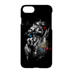 Man Rage Screaming  Apple Iphone 7 Hardshell Case by amphoto