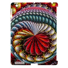 Circles Lines Background  Apple Ipad 3/4 Hardshell Case (compatible With Smart Cover) by amphoto
