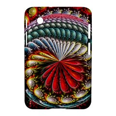 Circles Lines Background  Samsung Galaxy Tab 2 (7 ) P3100 Hardshell Case  by amphoto
