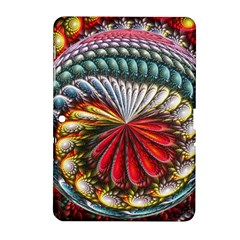 Circles Lines Background  Samsung Galaxy Tab 2 (10 1 ) P5100 Hardshell Case  by amphoto