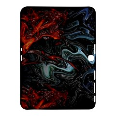 Lines Curves Background  Samsung Galaxy Tab 4 (10 1 ) Hardshell Case  by amphoto