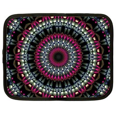 Circles Background Lines  Netbook Case (xxl)  by amphoto