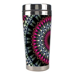 Circles Background Lines  Stainless Steel Travel Tumblers by amphoto