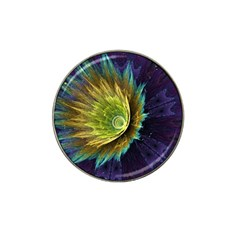 Flower Line Smoke  Hat Clip Ball Marker (4 Pack) by amphoto
