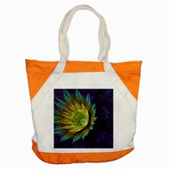 Flower Line Smoke  Accent Tote Bag by amphoto