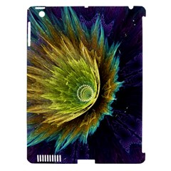Flower Line Smoke  Apple Ipad 3/4 Hardshell Case (compatible With Smart Cover) by amphoto