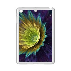 Flower Line Smoke  Ipad Mini 2 Enamel Coated Cases by amphoto