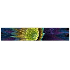 Flower Line Smoke  Flano Scarf (large)  by amphoto