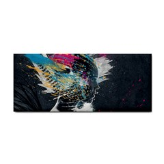 Face Paint Explosion 3840x2400 Hand Towel by amphoto