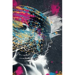 Face Paint Explosion 3840x2400 5 5  X 8 5  Notebooks by amphoto