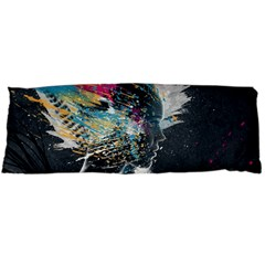Face Paint Explosion 3840x2400 Body Pillow Case (dakimakura) by amphoto