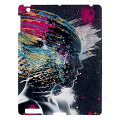Face Paint Explosion 3840x2400 Apple Ipad 3/4 Hardshell Case by amphoto