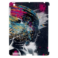 Face Paint Explosion 3840x2400 Apple Ipad 3/4 Hardshell Case (compatible With Smart Cover) by amphoto