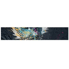 Face Paint Explosion 3840x2400 Flano Scarf (large)  by amphoto