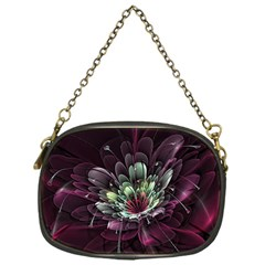 Flower Burst Background  Chain Purses (One Side)