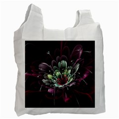 Flower Burst Background  Recycle Bag (Two Side)