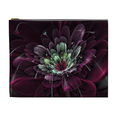 Flower Burst Background  Cosmetic Bag (XL)