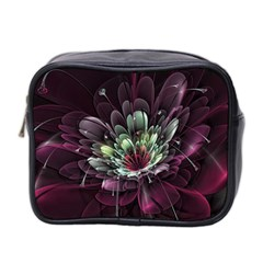 Flower Burst Background  Mini Toiletries Bag 2 Side by amphoto