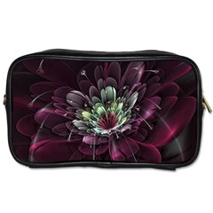 Flower Burst Background  Toiletries Bags 2-Side