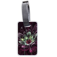 Flower Burst Background  Luggage Tags (One Side)