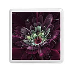 Flower Burst Background  Memory Card Reader (square)  by amphoto