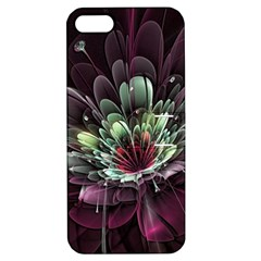 Flower Burst Background  Apple iPhone 5 Hardshell Case with Stand