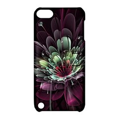 Flower Burst Background  Apple iPod Touch 5 Hardshell Case with Stand