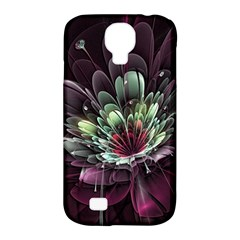 Flower Burst Background  Samsung Galaxy S4 Classic Hardshell Case (PC+Silicone)