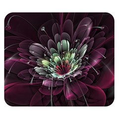 Flower Burst Background  Double Sided Flano Blanket (Small)