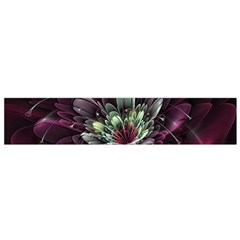 Flower Burst Background  Flano Scarf (Small)