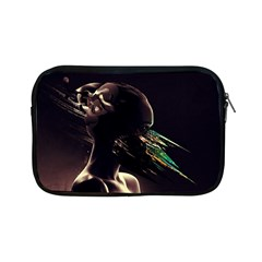 Face Shadow Profile Apple Ipad Mini Zipper Cases by amphoto