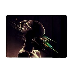 Face Shadow Profile Ipad Mini 2 Flip Cases by amphoto