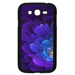 Purple Flower Fractal  Samsung Galaxy Grand Duos I9082 Case (black) by amphoto