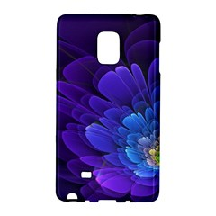 Purple Flower Fractal  Galaxy Note Edge by amphoto