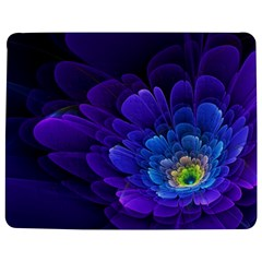 Purple Flower Fractal  Jigsaw Puzzle Photo Stand (rectangular) by amphoto