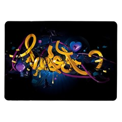 Sign Paint Bright  Samsung Galaxy Tab 10 1  P7500 Flip Case by amphoto